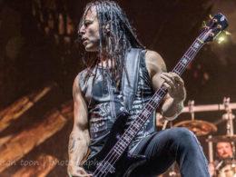 disturbed bassist